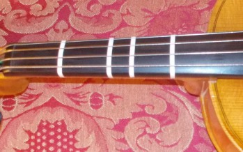 How to put fingerboard tapes on your instrument
