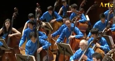Orchestra of 90 Basses