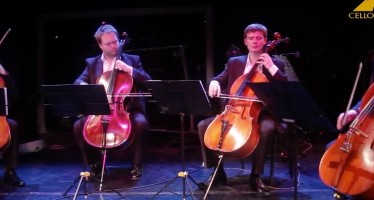 "Cello Ensemble ""Cellostrada"" plays Shostakovich"