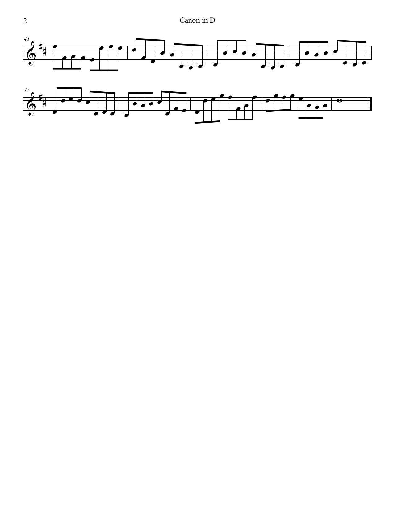 Learn Pachelbel's Canon In D Violin - How To Play Tutorial