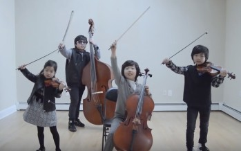 Joyous String Quartet – Shut Up and Dance