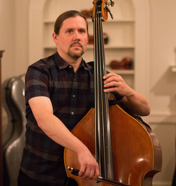 Instructor Todd Markey on Double Bass