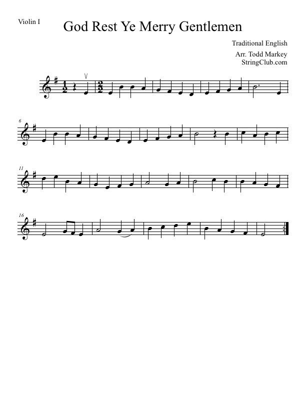 All Music Chords anime sheet music : Learn God Rest Ye Merry Gentlemen Violin - How To Play Tutorial ...
